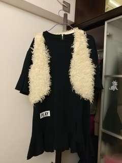 特價韓國新款2件上衫,可分開買,背心$4o,上衫5o