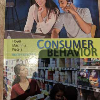 Consumer Behavior (Sixth Edition) Hoyer, Maclinnis, and Pieters