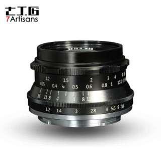 7artisans 35mm F1.2 APS-C Manual Focus Lens