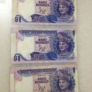 3 pieces of RM1 old design
