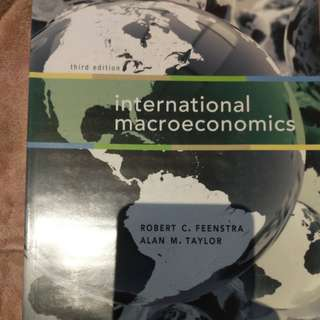 International Macroeconomics (Third edition)