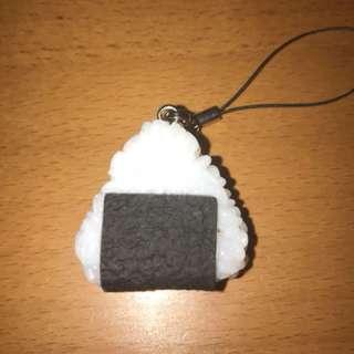Onigiri riceball keychain