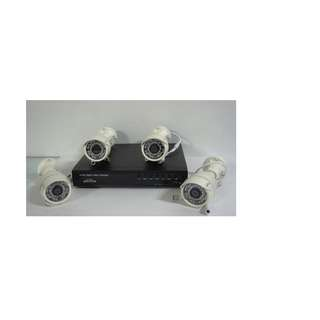 For Sale Cctv package w/ 4pcs 2.0mp Camera Outdoor