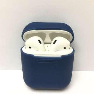 減價🈹包平郵【實物拍攝】藍色 AirPods 矽膠保護套(case only)