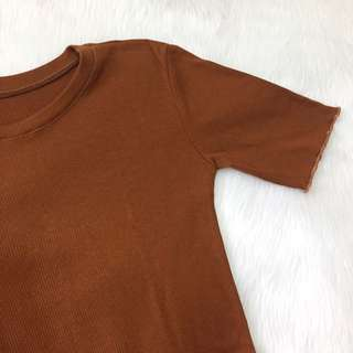 COPPER FITTED TOP