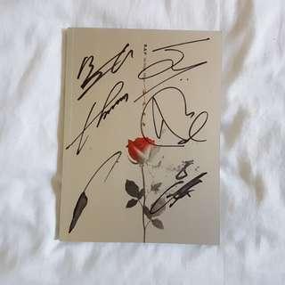 B.A.P Rose signed album