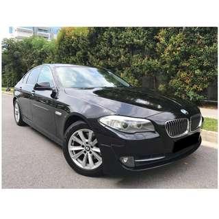 BMW 520 Uber/Grab good for Executive/Premium car rental or personal use