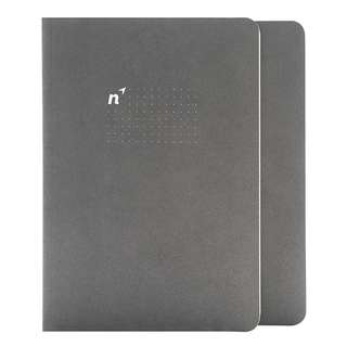 Northbrooks A5 Size Dot Grid Bullet Journal - 72 sheets, 90gsm, smooth paper Bullet journalling notebook Hand lettering sheets