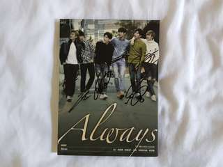 U-KISS Always signed album