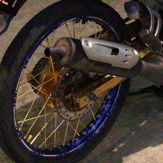 125Z Swing arm alloy!!