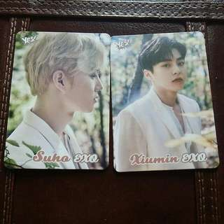 Exo Yes Card 閃卡