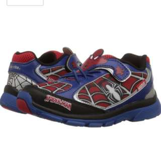 Stride Rite Ultimate Spiderman Light Shoes