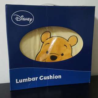 BNIB Winnie the Pooh Lumbar Cushion