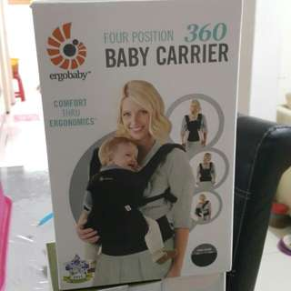 Ergobaby 4 positions 360 Baby Carrier