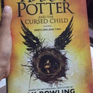 Harry potter and the cursed child hard cover (very good cond)
