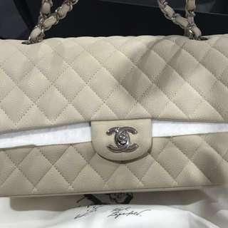 Chanel double flap medium(caviar)