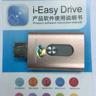 I-Easy Drive 256 GB for iPhone, Android & Windows Phone