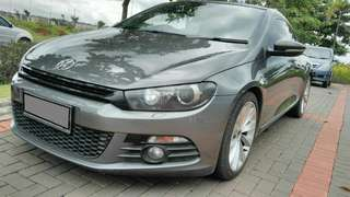 VW SCIROCCO 1.4 TSI TURBO COUPE 2013