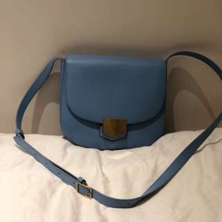 Celine trotteur bag blue