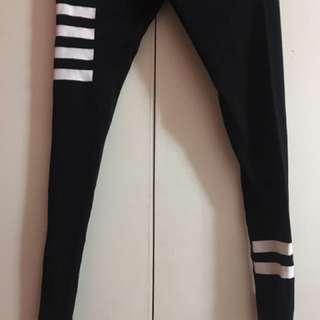 H&M Striped Leggings