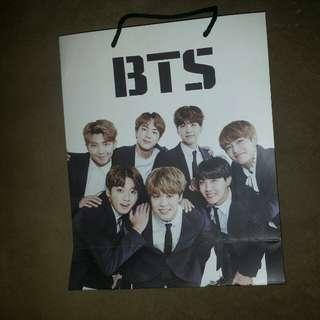 BTS PAPER BAG