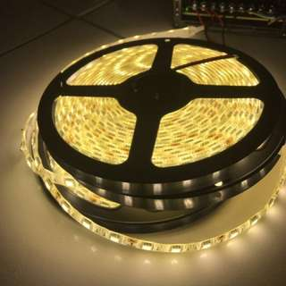 New 60-LED Strip Light for Sales (Warm White, Very Bright)