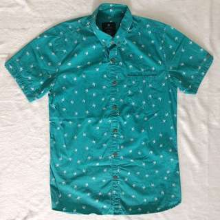 Cotton on printed button down (fits XS and Small)