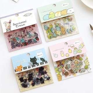 Diary planner cute sumikko gurashi stickers