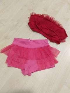 Red Tutu skirts