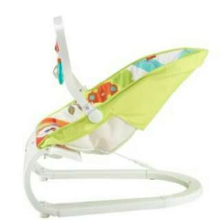 Curve Bouncer - Woodland Friends ( Green ) ETA 15/1