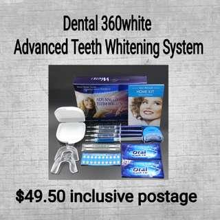 Dental 360white Advanced Teeth whitening system