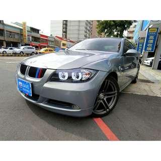 320i BMW 06年型 2.0 里程保證 認證 驗證車