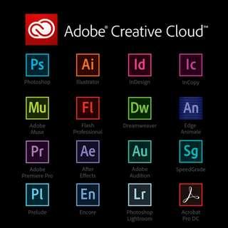 Adobe CC 2017 (1 Year)