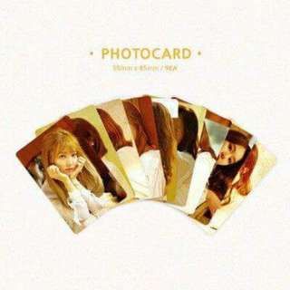 Twice First Love Photocards