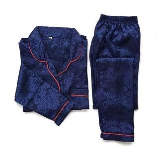 Rosy Navy Pajamas