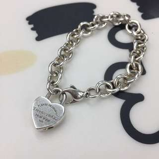 Authentic Tiffany heart lock bracelet 手鏈