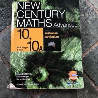 New century maths advanced