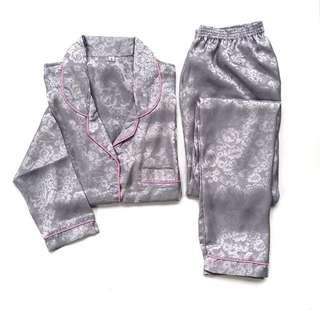 Rosy Grey Pajamas