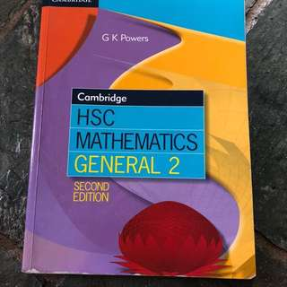 Cambridge HSC general maths (second edition)