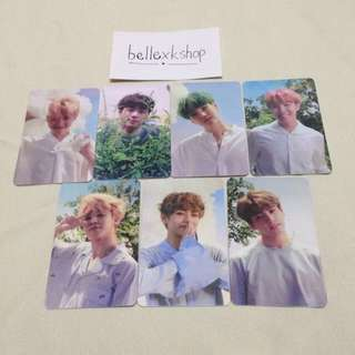 [READY STOCK] BTS LOVE YOURSELF O VER DUPLICATED/REPLICA PHOTOCARD