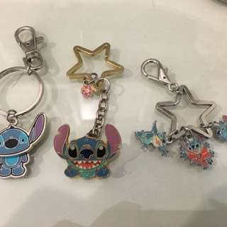 Stitch keychain from Disneyland