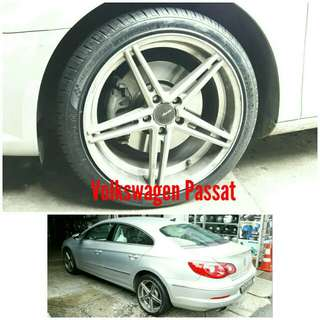 Tyre 235/40 R18 Membat on Volkswagen Passat 🐓 Super Offer 🙋