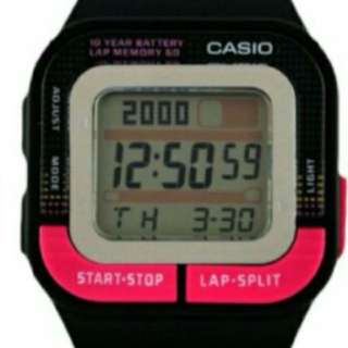 Authentic Casio Resin Watch