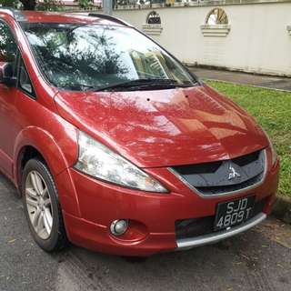 Mitsubishi Grandis Sports Gear