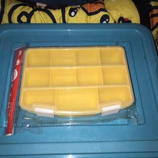 黃色格格儲物盒仔