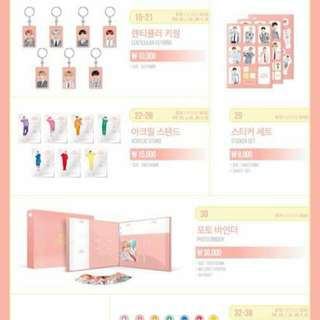 Loose Items For Bts 4th Muster MD