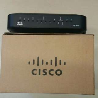 Cisco DPC Docsis3.0 3925 Cable Modem+ Telephone From Starhub