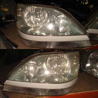 Toyota Harrier 2002 / head lamp