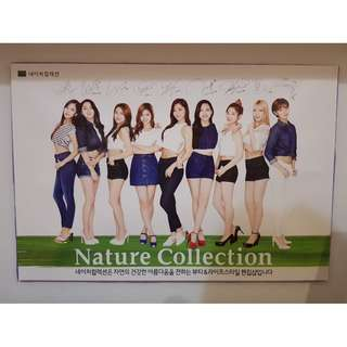 Nature Collection X TWICE Poster from KOREA