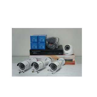 For Sale Cctv Packege with 4pcs AHD Camera Indoor / Outdoor